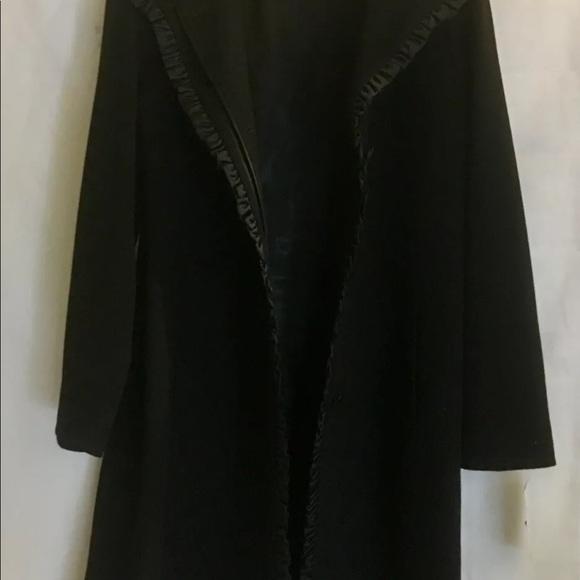 Fleurette Jackets & Blazers - Fleurette Elegant Black Wool Coat $695 Nordstrom